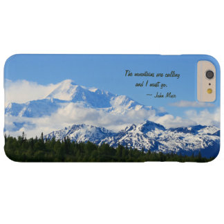 Mtns es llamada/Denali - J Muir Funda Para iPhone 6 Plus Barely There