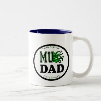 MU Dad Two-Tone Coffee Mug