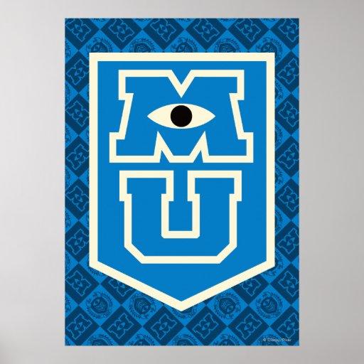 MU Flag Logo Poster   Zazzle