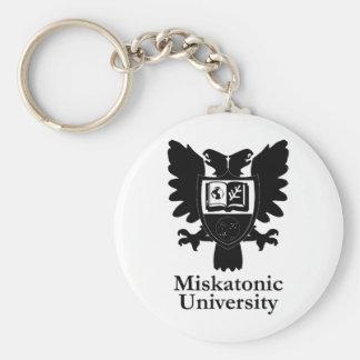 MU-Heraldic-Crest-zazzle Basic Round Button Keychain