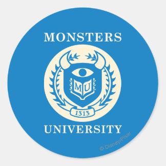 MU Seal - Dark Stickers