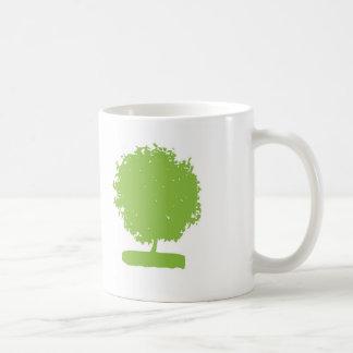 MuA002 : green tree mug