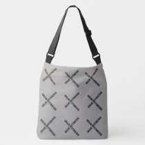MUA.MUE. FITNESS Triple X Shoulder Cross Tote Bag