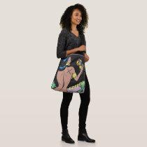 MUA.MUE. FITNESS  X Shoulder Africa Goddess Crossbody Bag