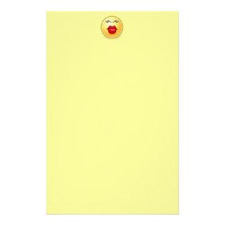 Muah kiss stationary stationery paper