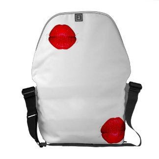 Muahaaa Bag Red Messenger Bag