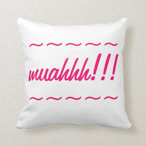 Muahhh Almohadas