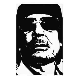 Muammar abu Minyar Al-Gaddafi Stationery Paper