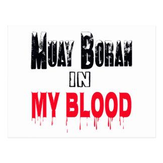 Muay Boran In My Blood Postcard
