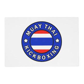 Muay Kickboxing tailandés Tapete Individual