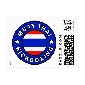 Muay Kickboxing tailandés Timbres Postales
