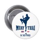 Muay Tailandia tailandesa Inglaterra Pin