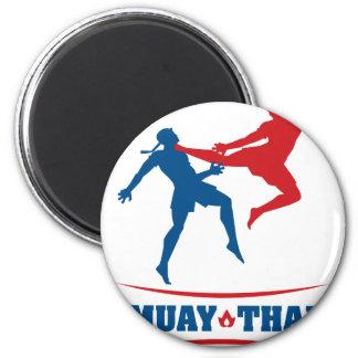 Muay Thai 2 Inch Round Magnet
