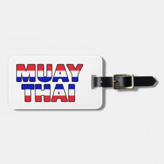 Muay Thai Bag Tag