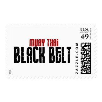 Muay Thai Black Belt Karate Stamps