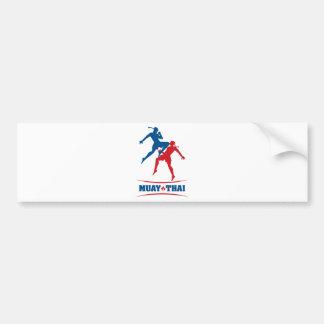 Muay Thai Bumper Sticker