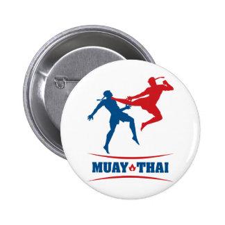 Muay Thai Pinback Buttons