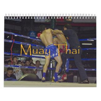 Muay Thai Calendar