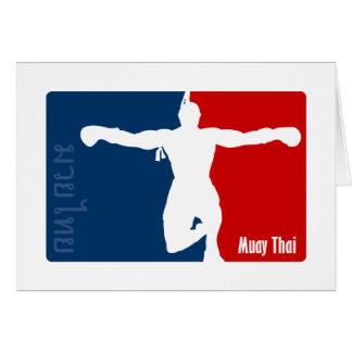 Muay Thai Card