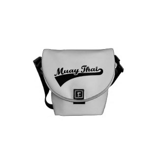 Muay Thai Courier Bag