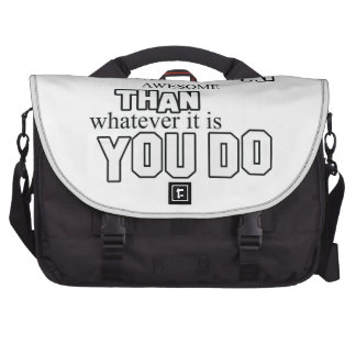 muay thai design laptop messenger bag