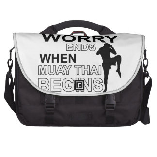 muay thai  Designs Commuter Bag
