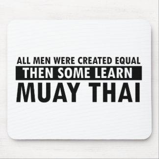 Muay Thai designs Mouse Pads
