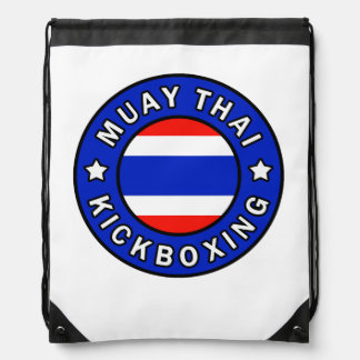 Muay Thai Drawstring Backpack