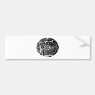 Muay Thai, Fight, Thai Boxing Bumper Sticker