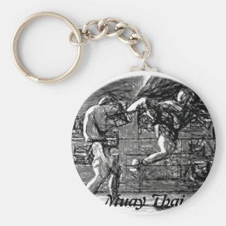 Muay Thai, Fight, Thai Boxing Key Chains