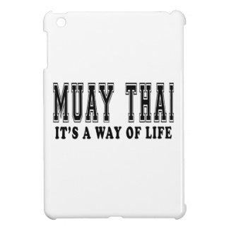 Muay Thai It's way of life Cover For The iPad Mini