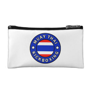Muay Thai Kickboxing Makeup Bag