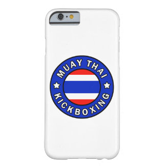 Muay Thai Kickboxing phone case Barely There iPhone 6 Case