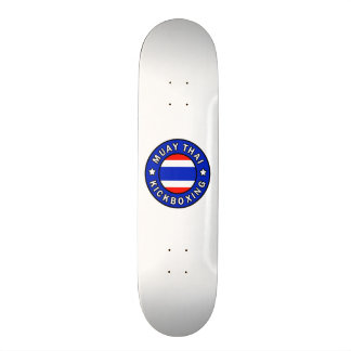 Muay Thai Kickboxing Skateboard