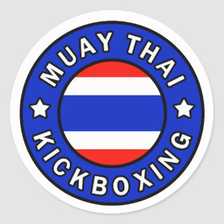 Muay Thai Kickboxing sticker