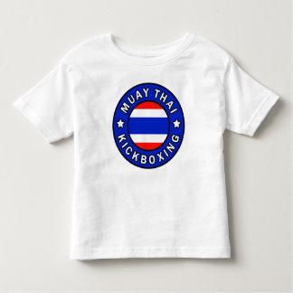 Muay Thai Kickboxing Toddler T-shirt