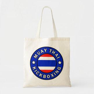 Muay Thai Kickboxing tote bag