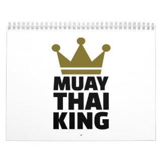 Muay Thai King Calendar
