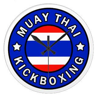 Muay Thai Large Clock