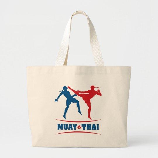 Muay Thai Large Tote Bag