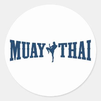 Muay Thai Logo Sticker