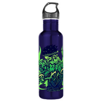 Muay Thai, Martial Arts, Kick Boxing and Prayer Stainless Steel Water Bottle