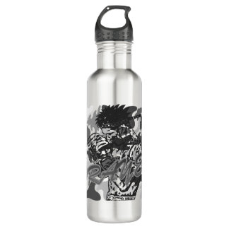 Muay Thai, Martial Arts, Kick Boxing and Prayer Water Bottle