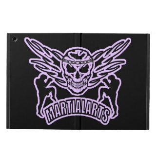 Muay Thai, Martial Arts, Kick Boxing and Skull iPad Air Case