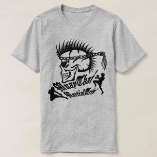 Muay Thai, Martial Arts, Kick Boxing and Skull T-Shirt
