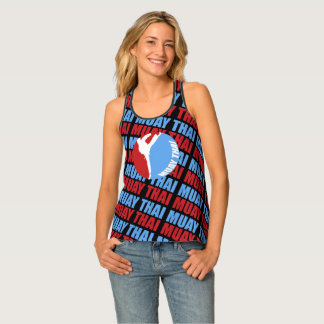 Muay Thai Martial Arts Personalized Tank Top