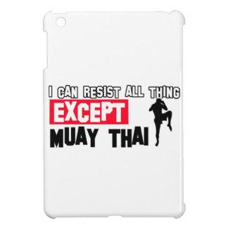 muay thai martial design iPad mini cover