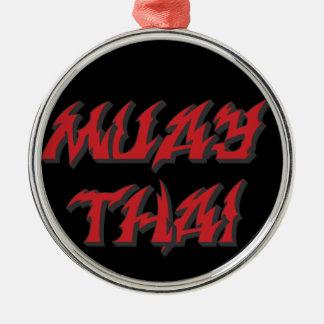 Muay Thai Metal Ornament