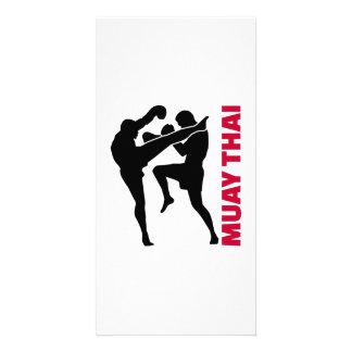 Muay Thai Photo Card