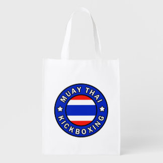 Muay Thai Reusable Grocery Bag